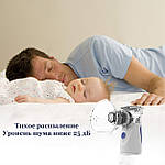 Небулайзер для детей и взрослых Doc-team Mesh ингалятор небулайзер ультразвуковой небулайзер мембранный, фото 7