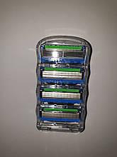 Картриджи Gillette Fusion ProGlide Power Оригинал 4 шт из большой упаковки производство Германия