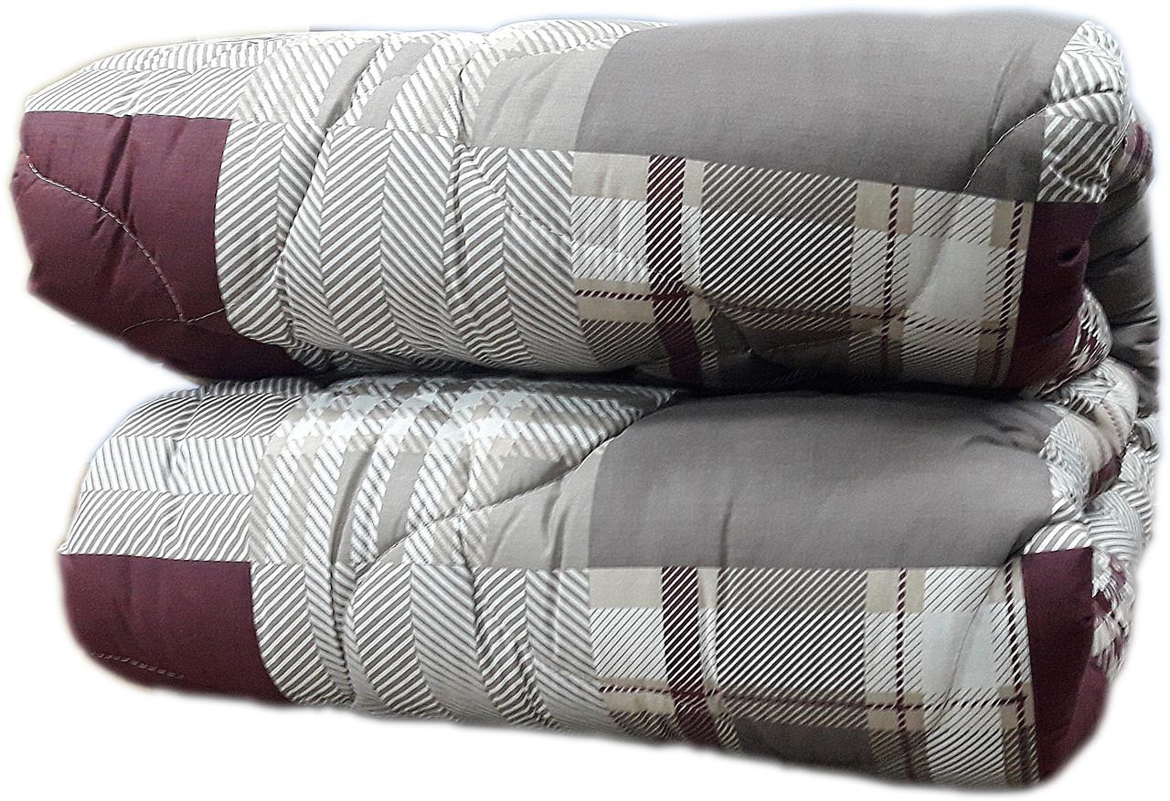 """Двуспальное одеяло на овчине """"001"""" (172х205)"""