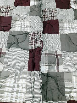 """Двуспальное одеяло на овчине """"001"""" (172х205), фото 2"""