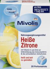 Mivolis Heiße Zitrone чай для профілактики простудних захворювань з вітаміном с і цинком 20 шт.