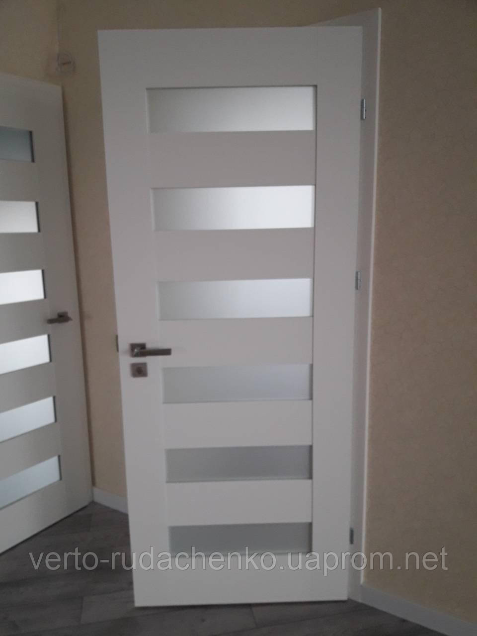 Двери Verto Полло 3.6 цвет Белый «Резист»