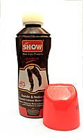 Краска Коричневая жидкая для замши, нубука, велюра Show 75мл