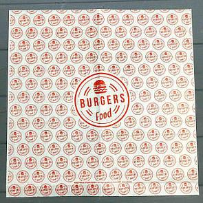 Бумага оберточная для гамбургеров 222Ф
