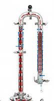 Дистиллятор Колонна 1.5дюйма . 6 клампов. 7 трубок Плюс сантех комплект. Плюс подарки !!!