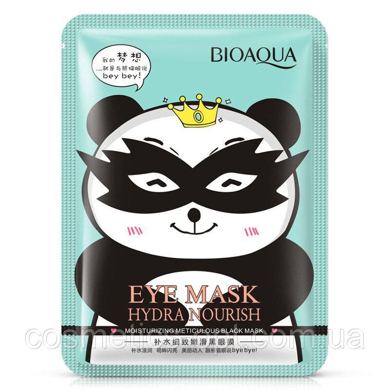 Круговая тканевая маска для кожи вокруг глаз Bioaqua Hydra Nourish Eye Mask