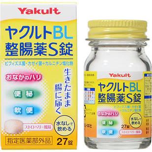 Японские YAKULT BL Лактобактерии + бифидобактерии, для всей семьи, 27 шт