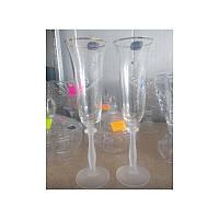 Набор бокалов для шампанского Angella, 190ml, 2шт/упак., СВАРОВСКИ, b40600(K0504)/2