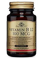 Solgar Vitamin B12 100 mcg (100 табл) солгар витамин б12