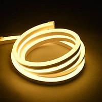 Светодиодный неон белый теплый 6х12 Led Strip Neon