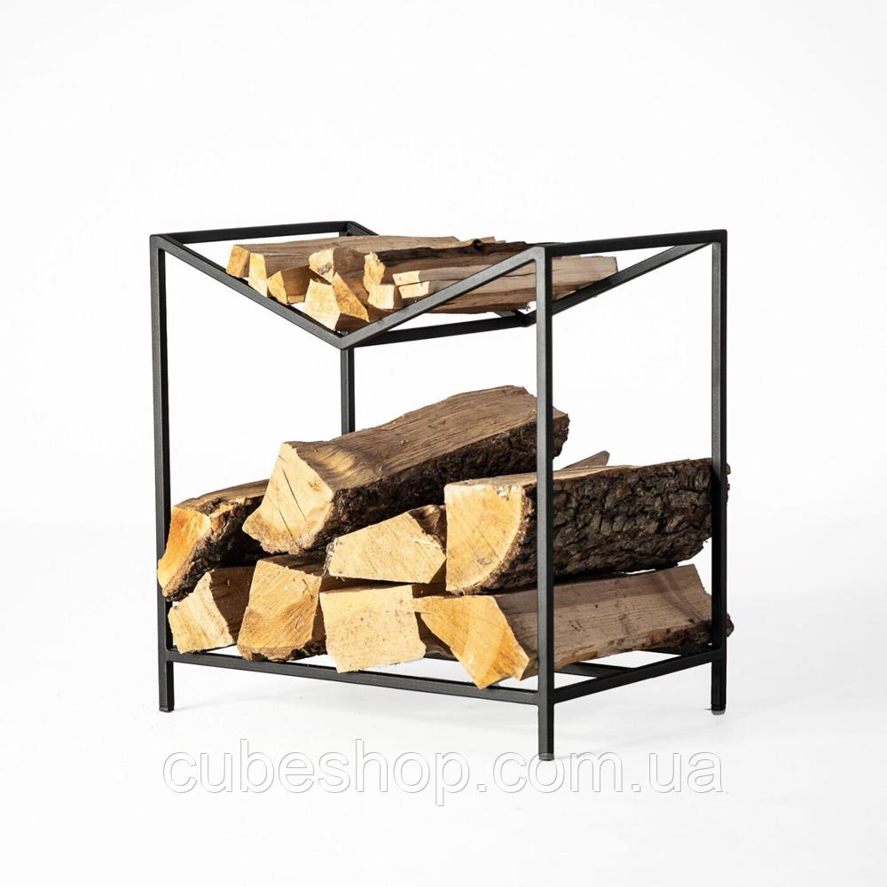 """Металлическая дровница """"Firewood"""""""