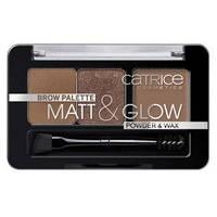 Catrice тени для бровей Brow palette matt&glow, фото 1