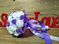 Свадебный букет-дублер для невесты Stile Цвет лиловый.