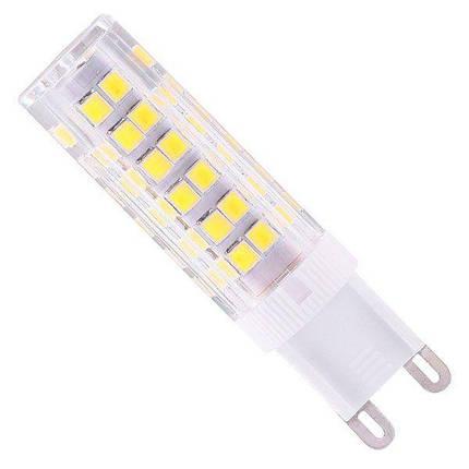 Світлодіодна лампа Biom G9 7 W 2835 4500K AC220, фото 2