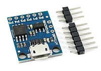 Плата ATtiny85 micro USB
