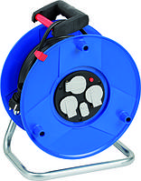 Удлинитель на катушке Garant с функцией зарядки USB 50м H05VV-F3G1,5, фото 1