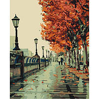 "Картина по номерам ""Осенний сквер"""