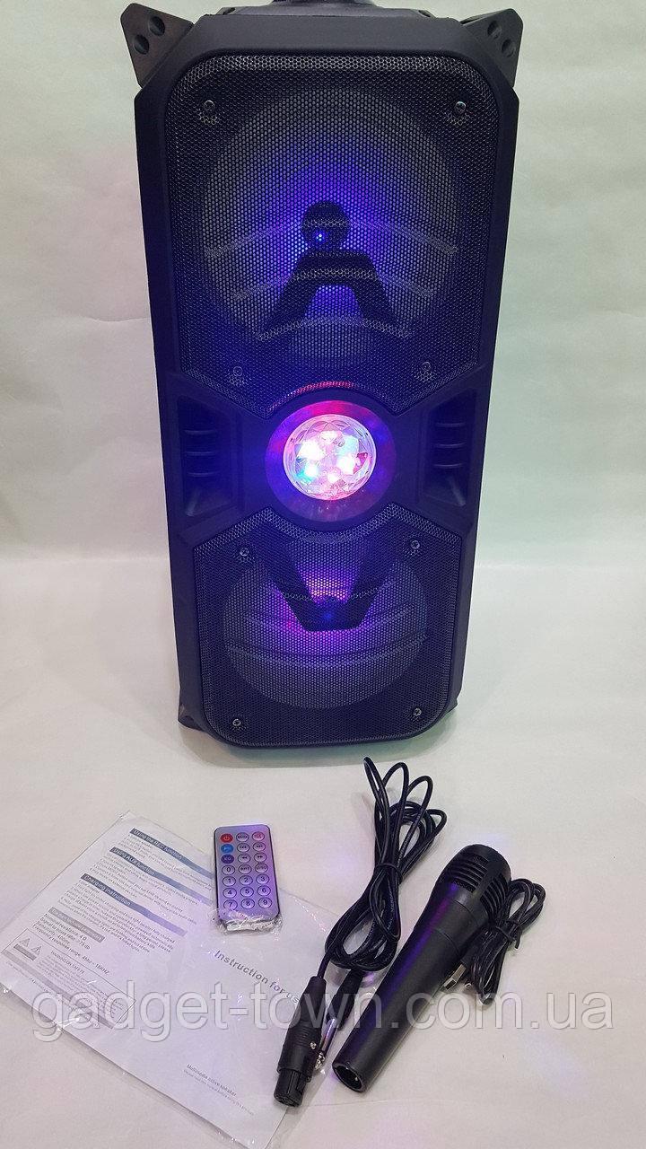 Портативная акустическая система E-S626 Bluetooth-динамик с микрофоном 60 Вт,