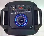 Портативная акустическая система E-S626 Bluetooth-динамик с микрофоном 60 Вт,, фото 2