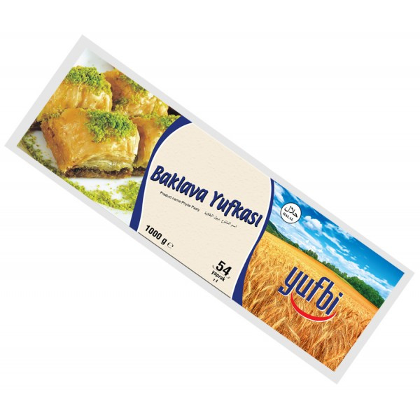 Тесто Фило для пахлавы Baklava Yufkasi 1 кг