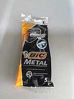 Bic Metal одноразовые бритвы( 5 шт )