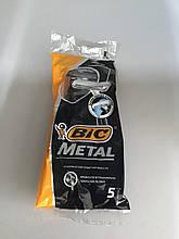 Bic Metal одноразові бритви( 5 шт )