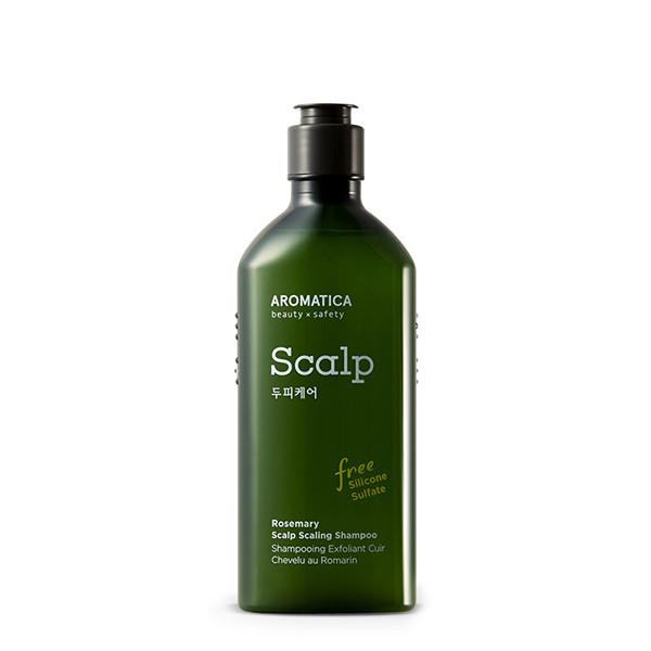 Бессульфатный укрепляющий шампунь с розмарином  AromaticaRosemary Scalp Scaling Shampoo, 250 мл