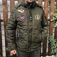 Куртка мужская зимняя на меху LANG
