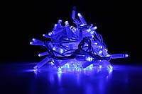 Уличная светодиодная гирлянда нить Lumion String Light (Стринг лайт) 200 led цвет синий без каб пит