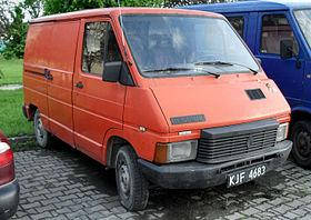 Renault Trafic I 81-01