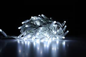 Уличная светодиодная гирлянда нить Lumion String Light (Стринг лайт) 200 led наружная белый холод. с мерцанием