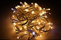 Уличная светодиодная гирлянда нить Lumion String Light (Стринг лайт) 200 led наружная белый теплый с мерцанием