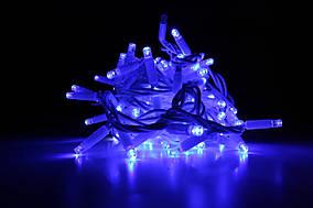Уличная светодиодная гирлянда нить Lumion String Light (Стринг лайт) 200 led наружная цвет синий с мерцанием