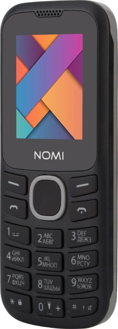 Мобільний телефон Nomi i184 Black-Grey Гарантія 12 місяців