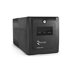 ИБП Ritar RTP1000 (600W) Proxima-Line interactive, LED, AVR, 3st, 4xSCHUKO socket, 2x12V7Ah,