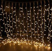 Уличная светодиодная гирлянда Штора Lumion Curtain (2064-DE) 456 led наружная цвет белый теплый