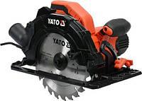Пила дисковая ручная сетевая 1.5 кВт YATO YT-82151 (Польша)