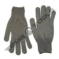 Рабочие перчатки нейлоновые серые