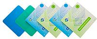 Платки для коффердама (резинки раббердам) DuraDam  синие 0,14 мм., 152х152 мм