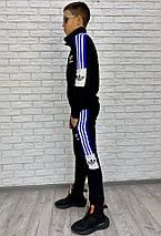 """Подростковый спортивный костюм """"АDIDАS"""" с контрастными вставками (2 цвета), фото 3"""