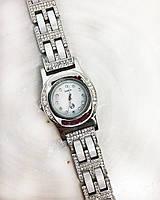 Годинник з крапельного срібла 925 Beauty Bar зі вставками з агату