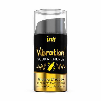 Жидкий вибратор для двоих Intt Vibration Vodka, 15 мл, фото 2