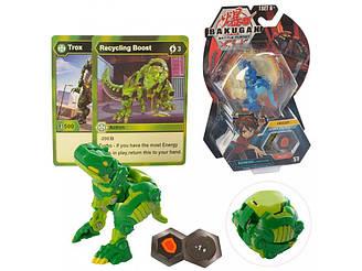 Новинка Бакуган Динозавр Bakugan Вентус Трокс ультра Battle planet батл зеленый