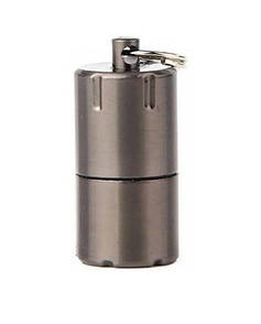 Мини бензиновая зажигалка. Микро зажигалка EDC запальничка бензинова міні. коричневый