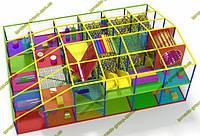 """Лабиринт детский игровой комплекс для помещения """"Лего"""""""
