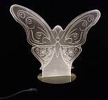 Бабочка: Оптический обман, превращающий 2D светильник в 3D, фото 4