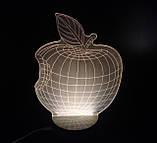 Яблоко Apple: Оптический обман, превращающий 2D светильник в 3D, фото 4