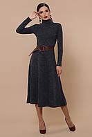 Размер 42-48 теплое платье из ангоры длинное