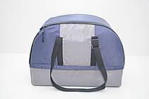 Сумка переноска лежак 2 в 1 для собак і котів Гармонія синя, фото 2