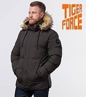 Tiger Force 78270   Куртка мужская зимняя кофе